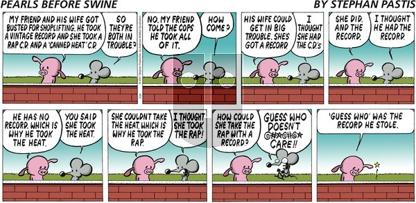 Pearls Before Swine - Sunday February 28, 2021 Comic Strip