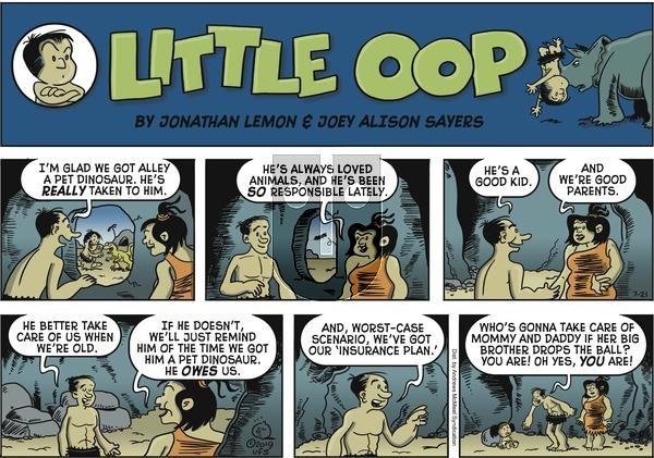 Alley Oop - Sunday July 21, 2019 Comic Strip