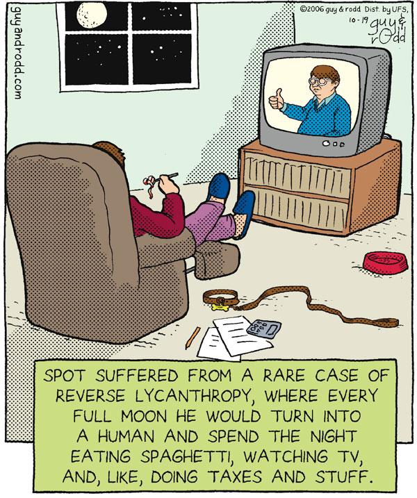 Brevity Comic Strip for October 19, 2006