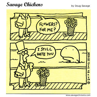 Savage Chickens Comic Strip for October 07, 2014