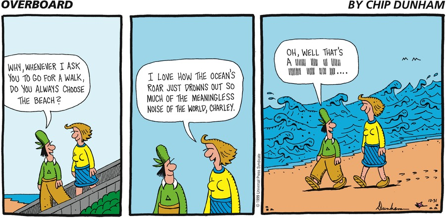 Overboard for Oct 31, 1999 Comic Strip