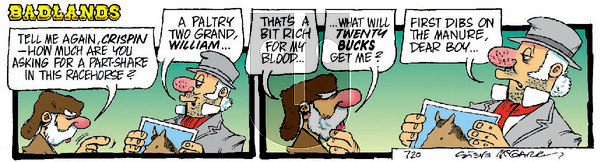 Badlands on Wednesday March 3, 2021 Comic Strip