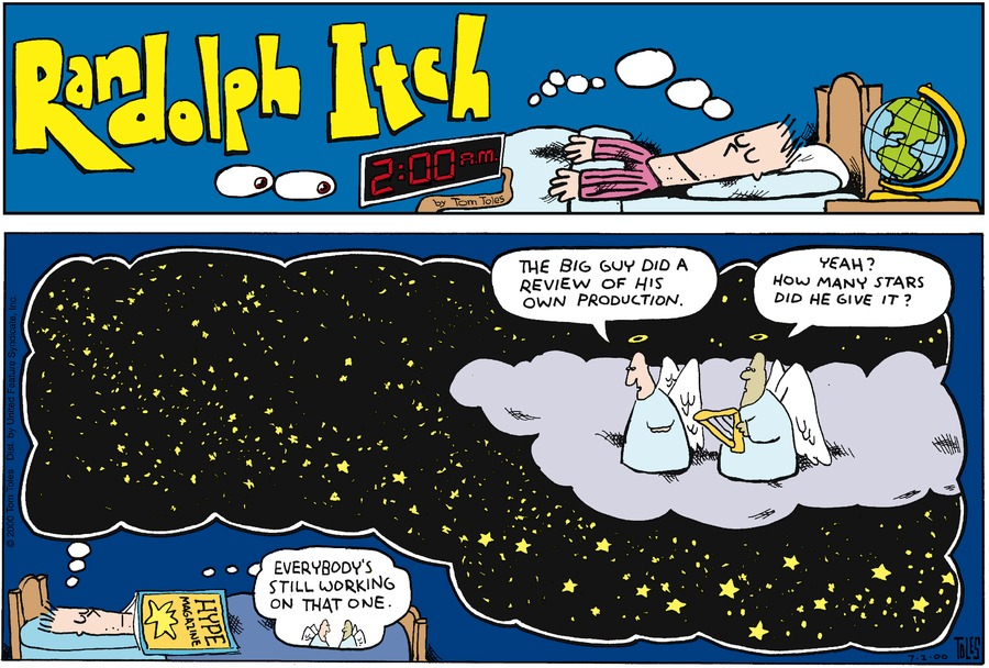 Randolph Itch, 2 a.m. for Jun 16, 2013 Comic Strip