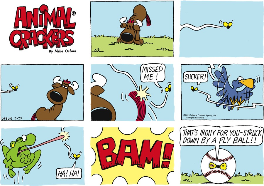 Animal Crackers Comic Strip for July 25, 2021