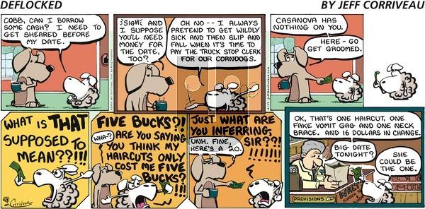 DeFlocked on Sunday April 12, 2009 Comic Strip