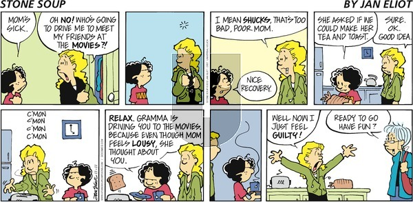 Stone Soup on Sunday November 11, 2012 Comic Strip