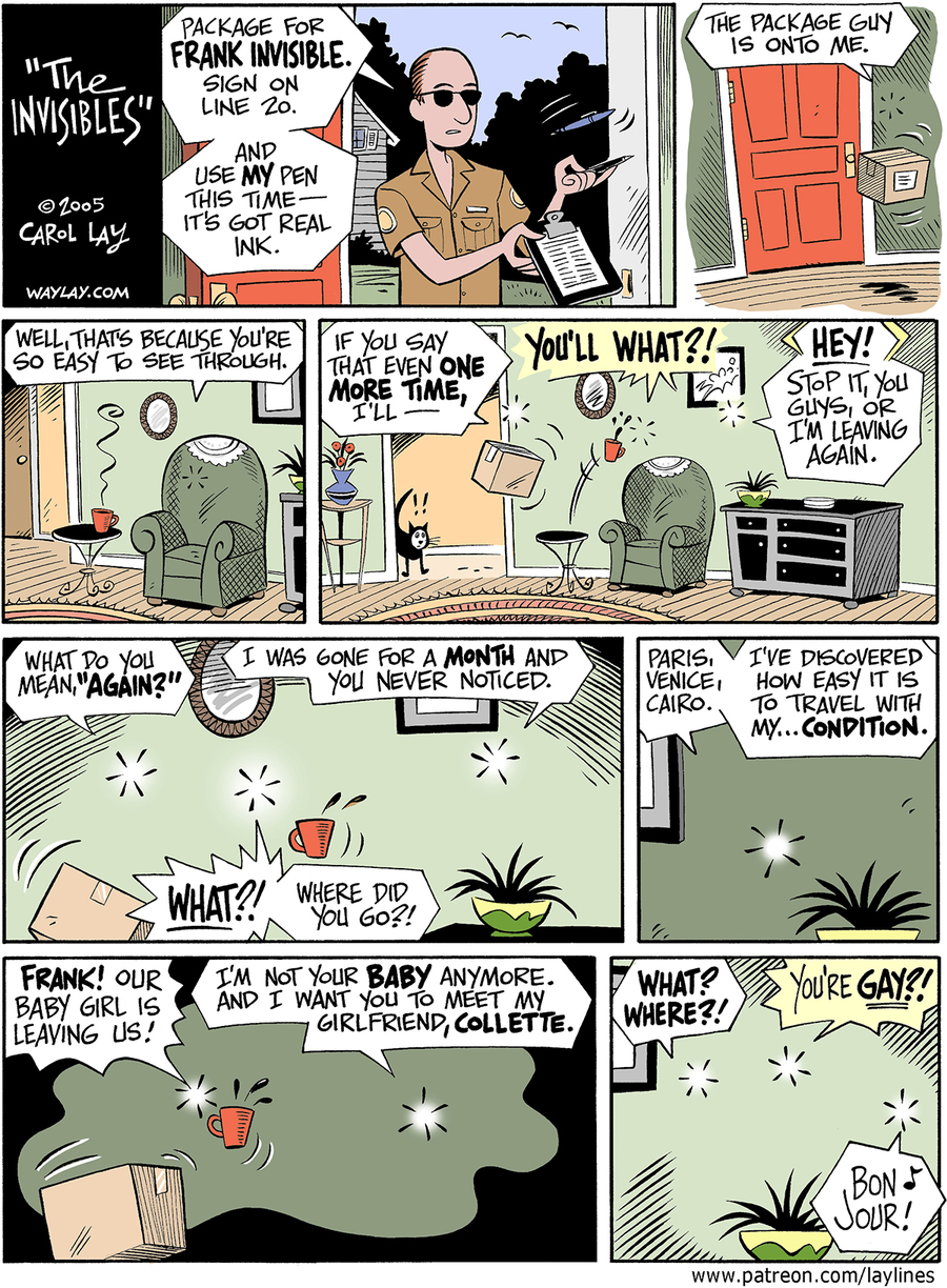 Lay Lines Comic Strip for February 08, 2016