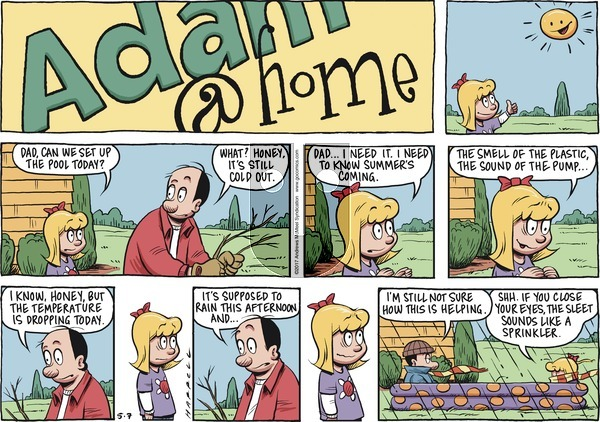 Adam@Home on Sunday May 7, 2017 Comic Strip