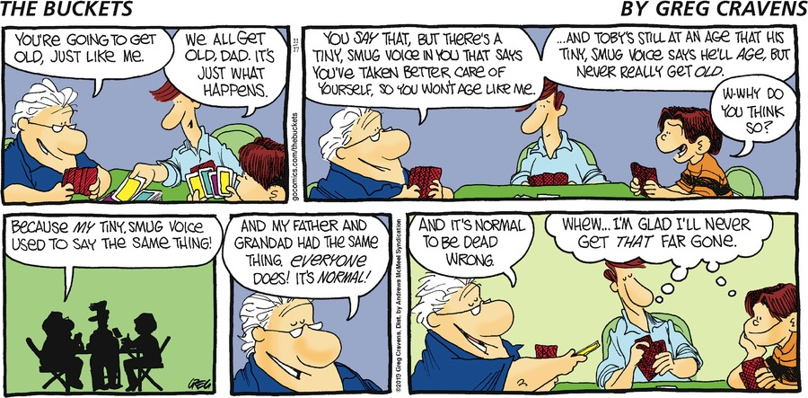 The Buckets Comic Strip for November 17, 2019