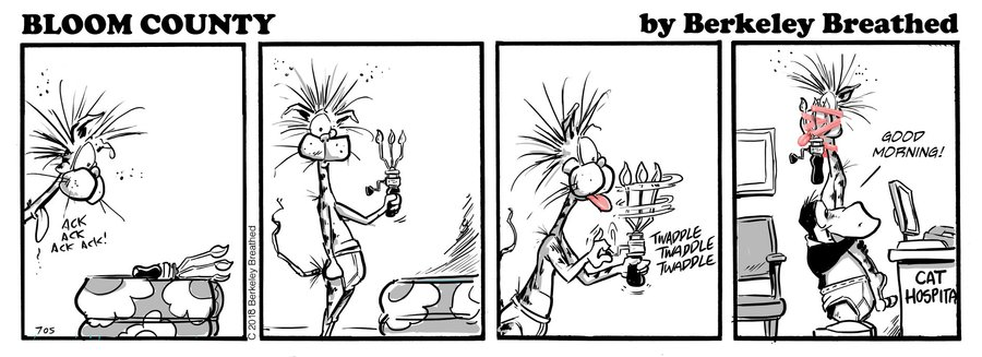 Bloom County 2018 by Berkeley Breathed for November 15, 2018