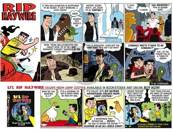 Rip Haywire on Sunday January 1, 2017 Comic Strip