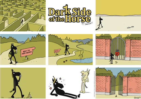 Dark Side of the Horse