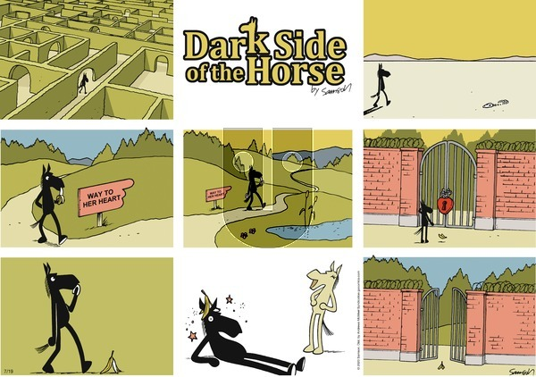 Dark Side of the Horse on Sunday July 19, 2020 Comic Strip