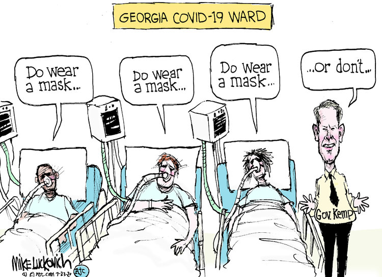 Mike Luckovich Comic Strip for July 23, 2020