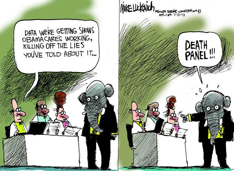 Mike Luckovich for Jul 21, 2013 Comic Strip