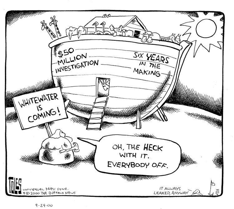 Tom Toles for Sep 24, 2000 Comic Strip