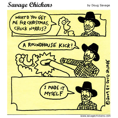 Savage Chickens for Dec 17, 2013 Comic Strip