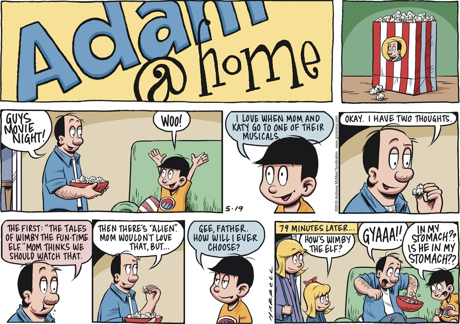 Adam@Home Comic Strip for May 19, 2019