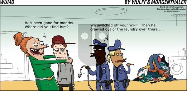 WuMo on Sunday June 30, 2019 Comic Strip