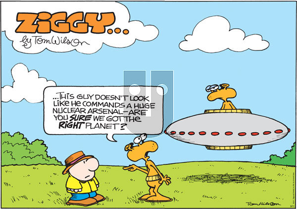 Ziggy - Sunday September 11, 2011 Comic Strip