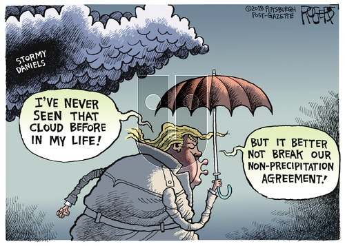 Rob Rogers on Sunday March 18, 2018 Comic Strip