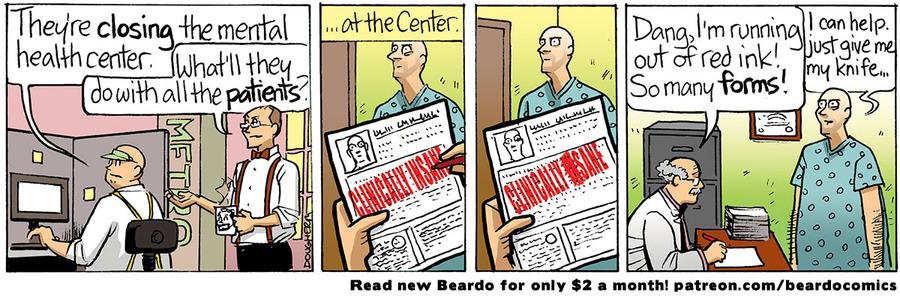 Beardo Comic Strip for July 16, 2021