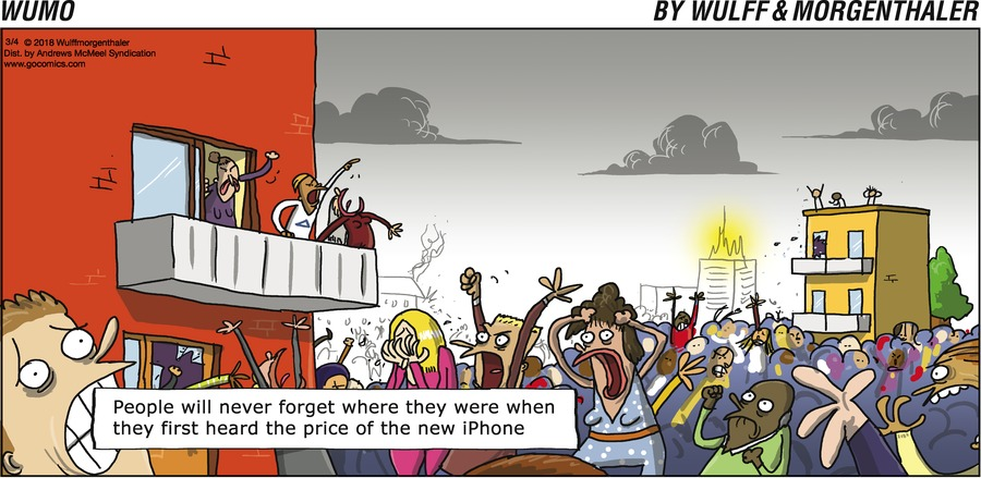 WuMo Comic Strip for March 04, 2018