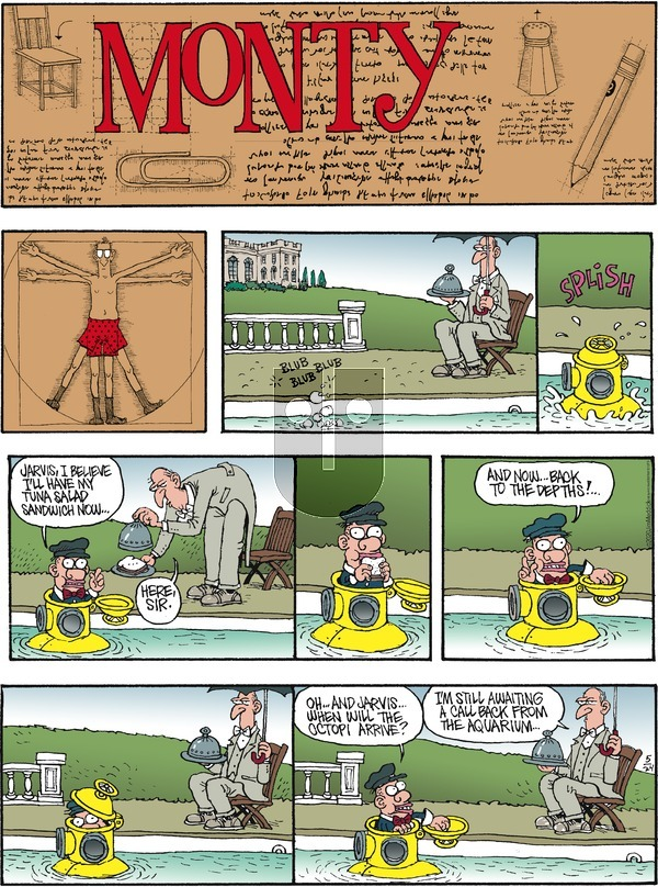 Monty - Sunday May 24, 2020 Comic Strip