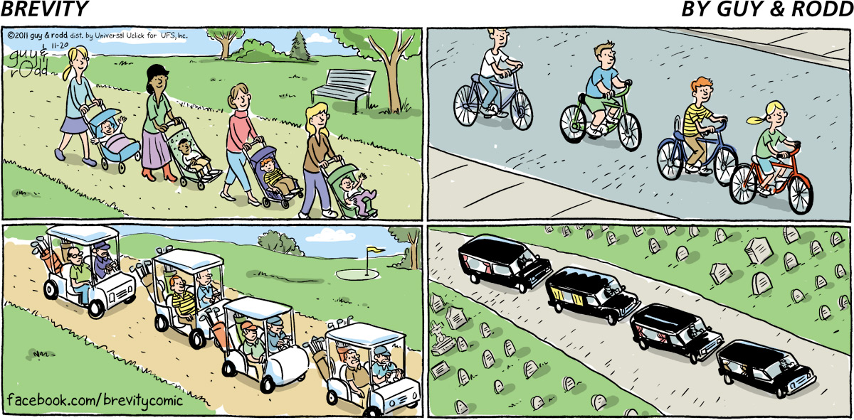 Brevity for Nov 20, 2011 Comic Strip