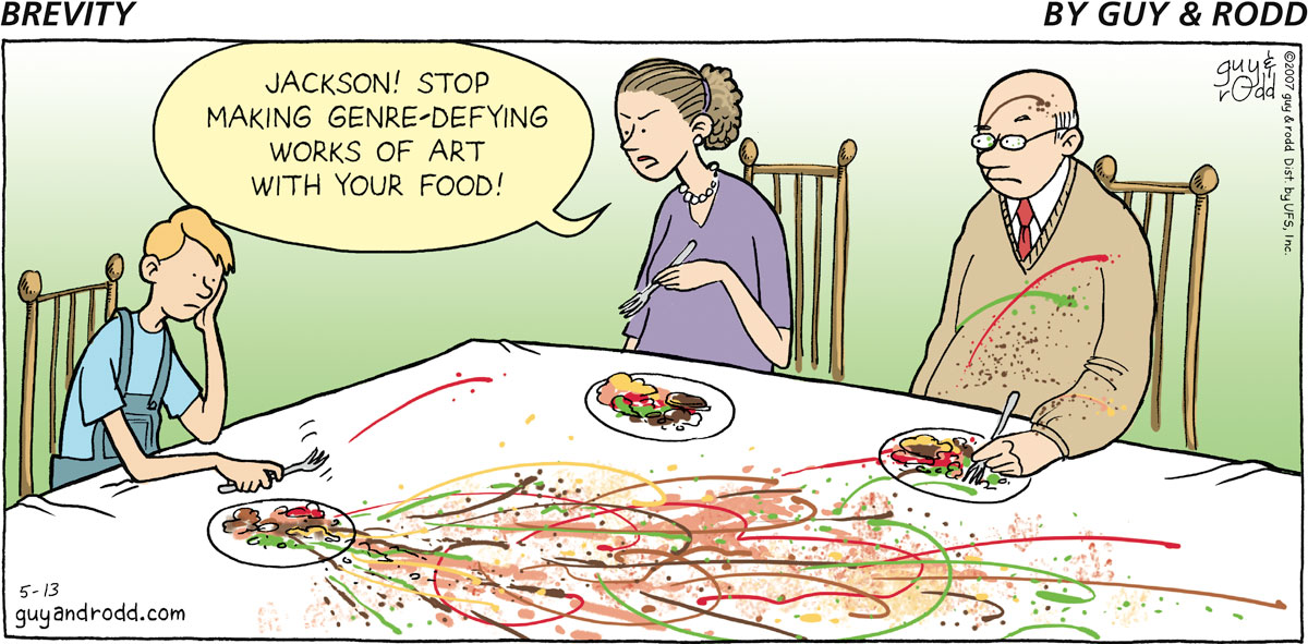 Brevity for May 13, 2007 Comic Strip