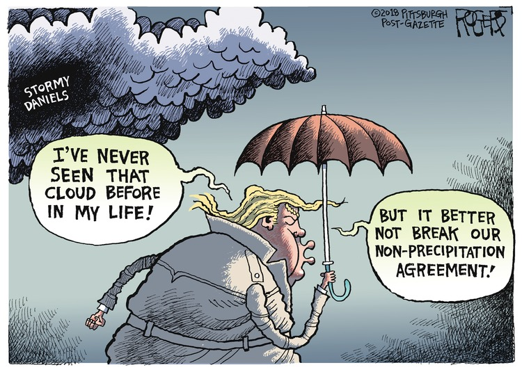 Rob Rogers for Mar 18, 2018 Comic Strip