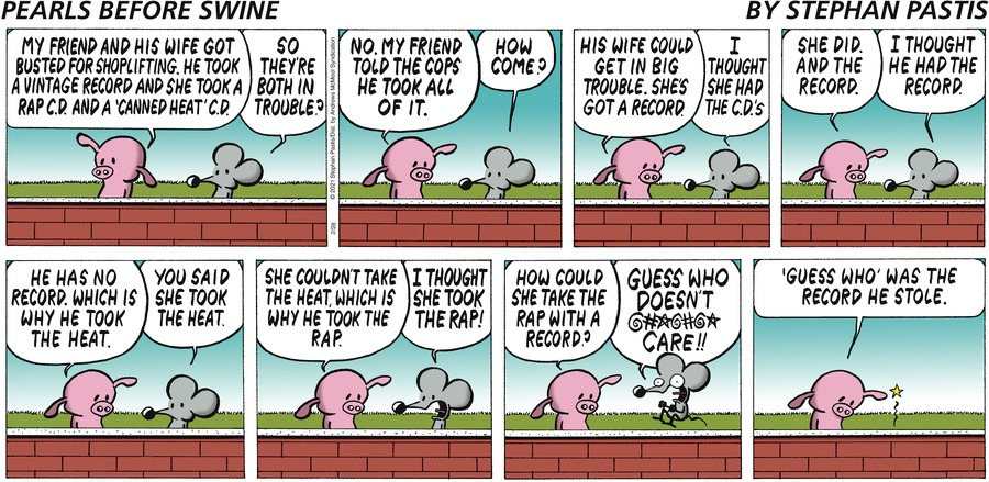 Pearls Before Swine by Stephan Pastis on Sun, 28 Feb 2021