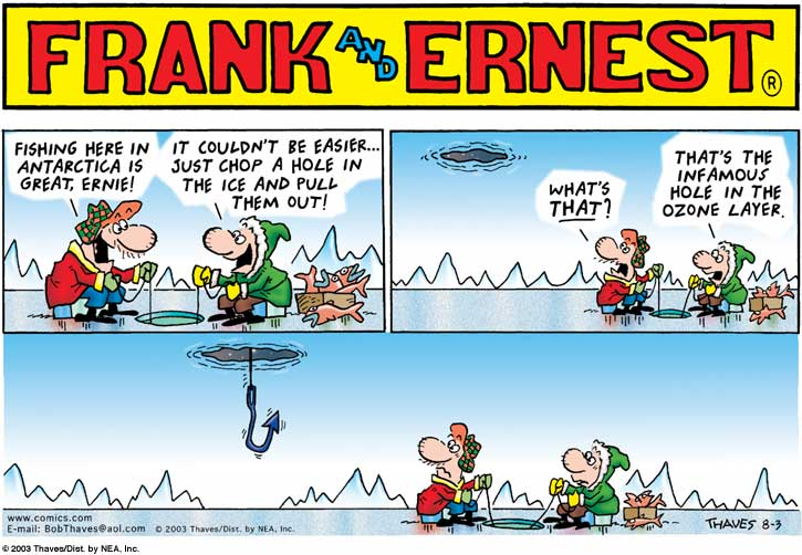 Frank and Ernest Comic Strip for August 03, 2003