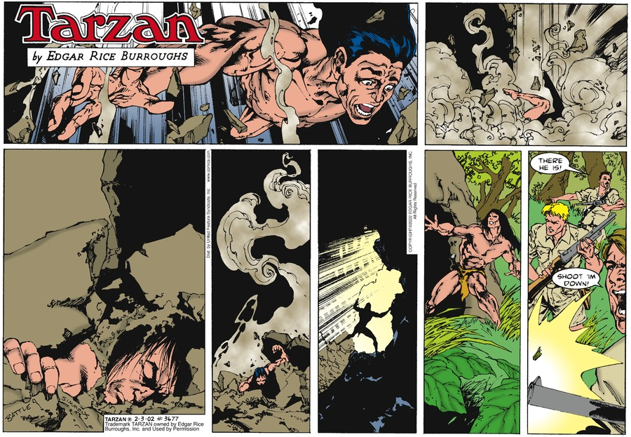 Tarzan Comic Strip for February 03, 2002