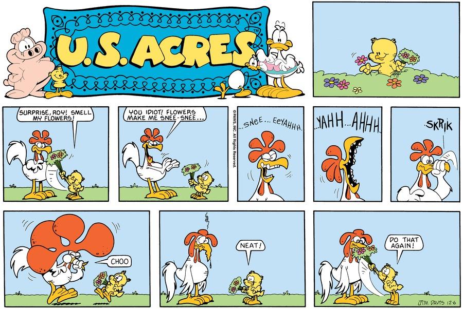 U.S. Acres Comic Strip for December 02, 2012