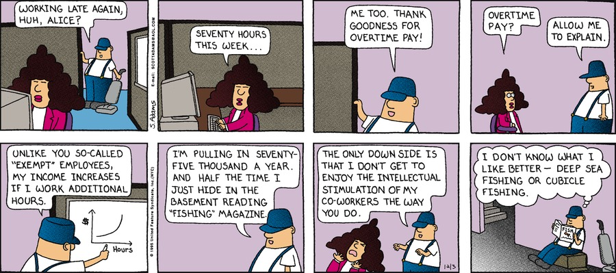 Dilbert Classics Comic Strip for November 03, 2019