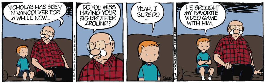 Ben for Jul 27, 2017 Comic Strip
