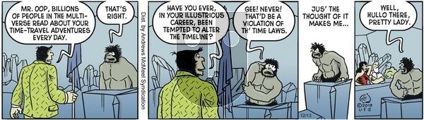 Alley Oop - Friday December 13, 2019 Comic Strip
