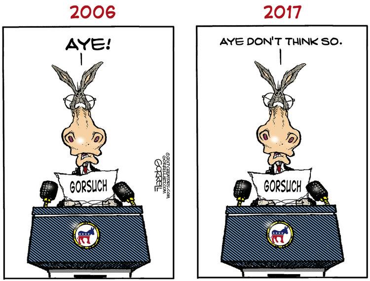 Bob Gorrell Comic Strip for February 02, 2017