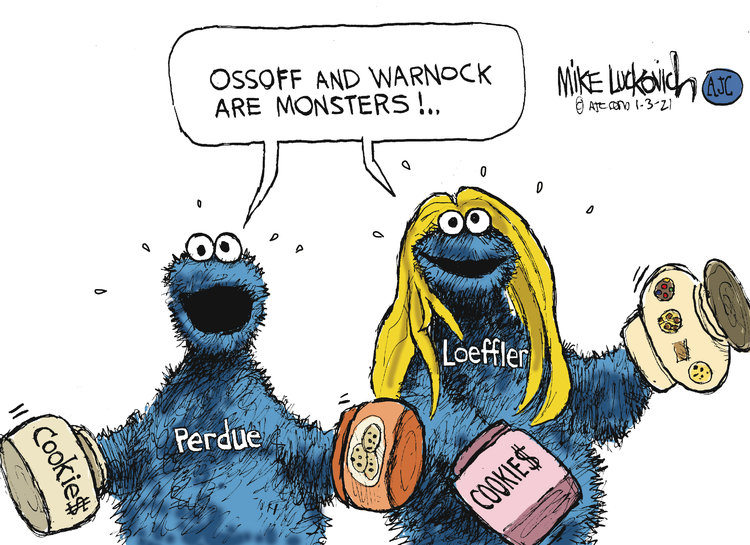 Mike Luckovich Comic Strip for January 03, 2021