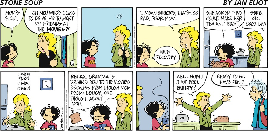 Stone Soup for Nov 11, 2012 Comic Strip