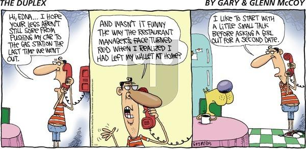 The Duplex on Sunday July 31, 2016 Comic Strip