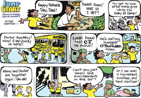 JumpStart on Sunday June 21, 2020 Comic Strip