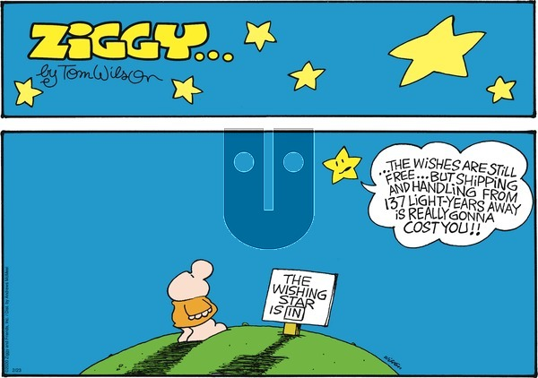 Ziggy on Sunday February 23, 2020 Comic Strip