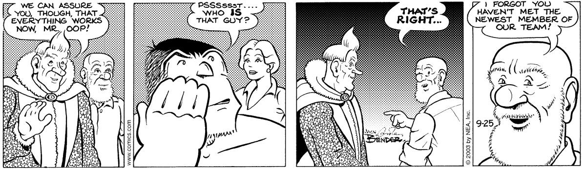 Alley Oop for Sep 25, 2003 Comic Strip