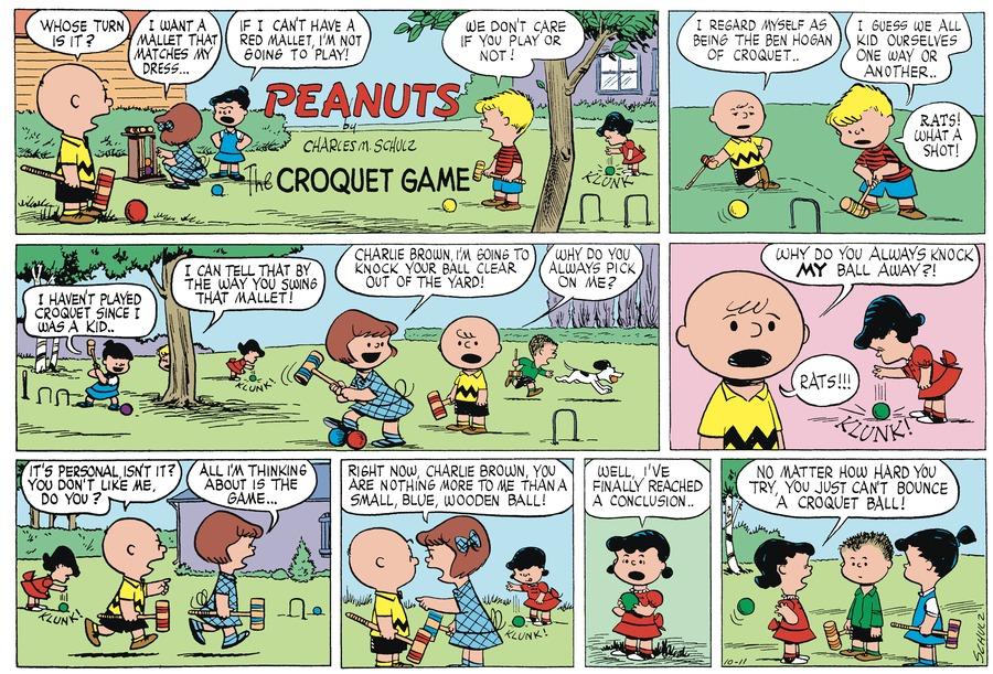Peanuts Begins for Jan 12, 2018 Comic Strip