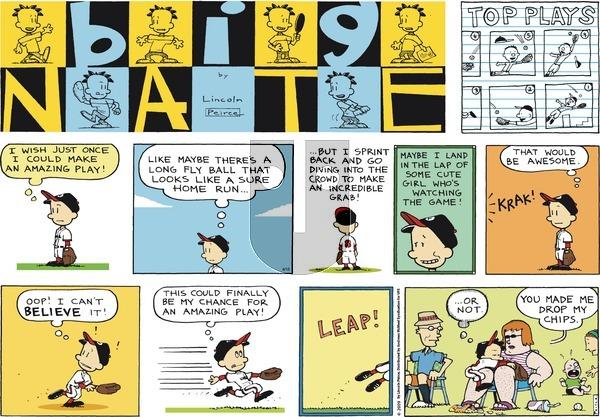 Big Nate on Sunday April 15, 2018 Comic Strip