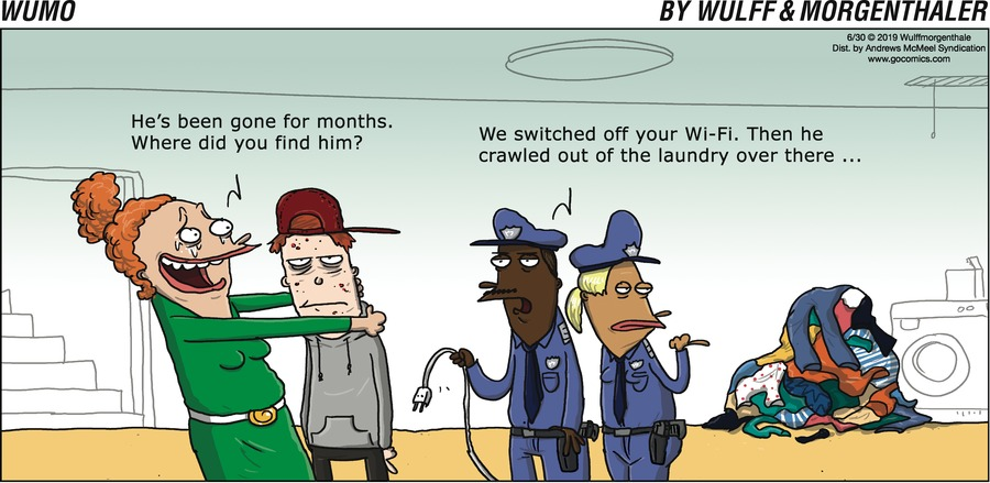 WuMo Comic Strip for June 30, 2019