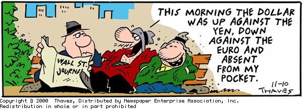 Frank and Ernest Comic Strip for November 10, 2000