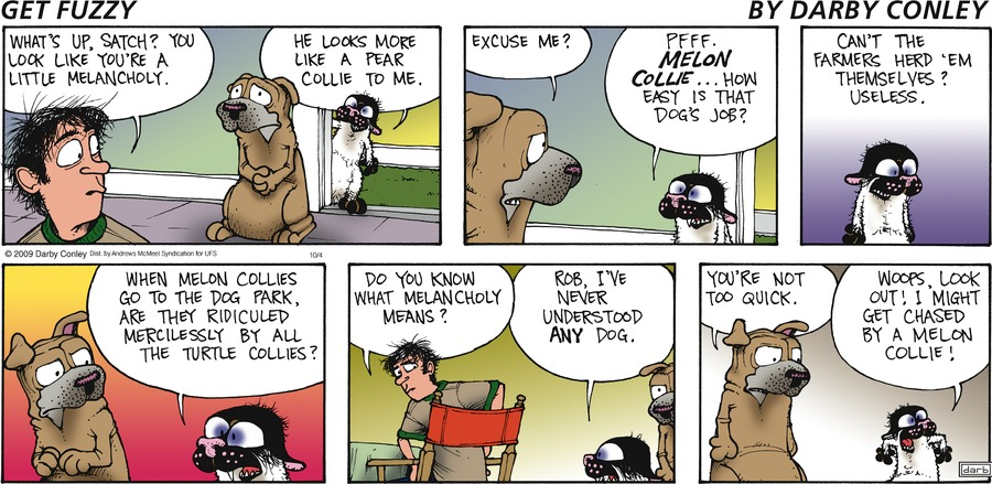 Get Fuzzy Comic Strip for October 04, 2020